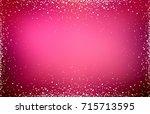 background pink red glitter...   Shutterstock . vector #715713595