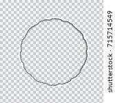 vector realistic illustration... | Shutterstock .eps vector #715714549