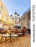 Streets Of Old Tallinn  Estonia