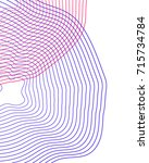 minimalistic vector background... | Shutterstock .eps vector #715734784