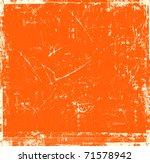 Scratch Orange Background