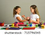 creativity and imagination... | Shutterstock . vector #715796545