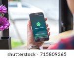 chiang mai  thailand  ... | Shutterstock . vector #715809265