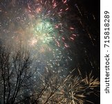 Small photo of New Years Eve Fireworks