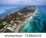 aerial view of the island of... | Shutterstock . vector #715865125
