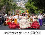 funchal  portugal   may 7  2017 ... | Shutterstock . vector #715868161