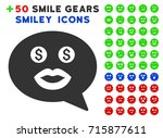 prostitute smiley message... | Shutterstock .eps vector #715877611