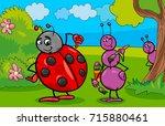 cartoon vector illustration of... | Shutterstock .eps vector #715880461