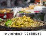 chinese dessert dim sum | Shutterstock . vector #715885369