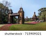 ukrainian memorial  curitiba ... | Shutterstock . vector #715909321