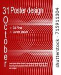 minimalist poster design.... | Shutterstock .eps vector #715911304