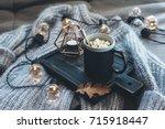 still life details of living...   Shutterstock . vector #715918447