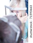 optometry concept   pretty... | Shutterstock . vector #71593663