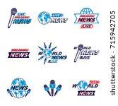 social mass media logo  emblems ...