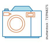camera photographic isolated... | Shutterstock .eps vector #715968271