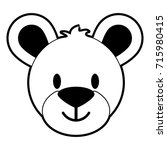 teddy bear icon image  | Shutterstock .eps vector #715980415