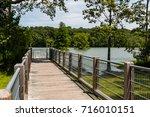 ramp to ada compliant canoe... | Shutterstock . vector #716010151