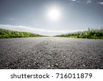 countryside road | Shutterstock . vector #716011879