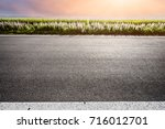countryside road | Shutterstock . vector #716012701
