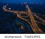 aerial photography bird eye... | Shutterstock . vector #716013931