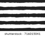 torn paper vectors on a black... | Shutterstock .eps vector #716015041