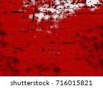 red grunge background. abstract ... | Shutterstock . vector #716015821