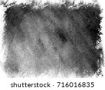 grunge background of black and... | Shutterstock . vector #716016835