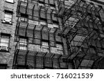stairs in boston  ma   | Shutterstock . vector #716021539
