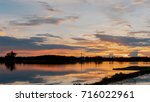 dramatic sky with cloud....   Shutterstock . vector #716022961