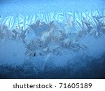 This Is Snow Frosty Pattern On...