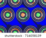 african fashion textiles  super ... | Shutterstock .eps vector #716058139