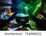 Witcher cauldron with color...