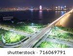 shanghai interchange overpass... | Shutterstock . vector #716069791
