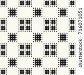 seamless pattern halftone...   Shutterstock .eps vector #716071051