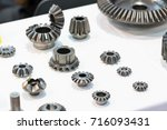 high precision hot forging... | Shutterstock . vector #716093431