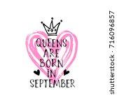 vector illustration  queens are ... | Shutterstock .eps vector #716096857