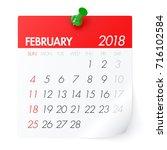 February 2018   Calendar....