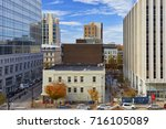 raleigh  north carolina  ... | Shutterstock . vector #716105089