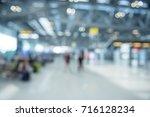 blurred traveling concept.... | Shutterstock . vector #716128234
