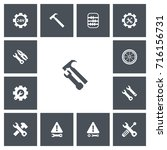 set of 13 editable toolkit...