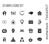 set of 20 editable amour icons. ...