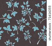 floral seamless background | Shutterstock .eps vector #71616355
