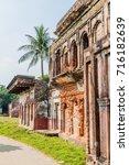 Small photo of Ruined houses in historic city Panam (Panam Nagor), Bangladesh