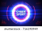 Cyber Sport Abstract Backgroun...