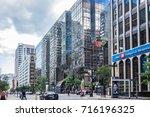 montreal  canada   august 13 ... | Shutterstock . vector #716196325