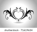 abstract grey background with...   Shutterstock .eps vector #71619634