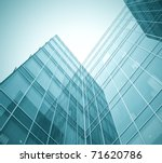 disappearing glass office... | Shutterstock . vector #71620786