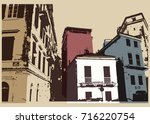 Old City Typographic Vintage...