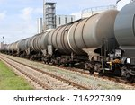 Small photo of tank cars at oil depot