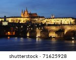 Shining Prague Castle And...